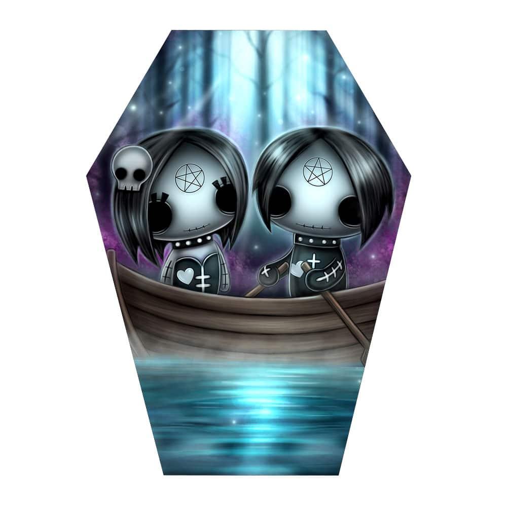 ebony-and-eli-gothling-artwork-in-coffin-shape
