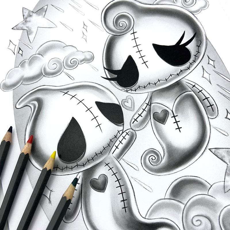 hugh-dot-sketch